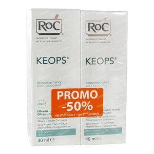 RoC Keops Deodoranti Stick Prezzo Ridotto 2x40 ml Stick