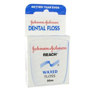 Johnson Reach Dental Floss Waxed 50 m