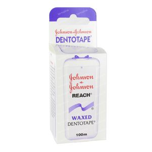 Johnson Reach Dental Tape Waxed 100 m