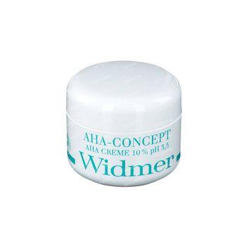Louis Widmer AHA Crème 10% Sans Parfum 50 ml