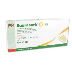 Super Absorbent H Fin Compress Steriel 5X10Cm 20410 10 pieces