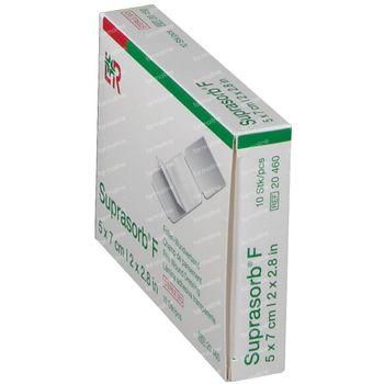 Suprasorb® F Folie-Verband Steriel 5 x 7 cm 20460 10 stuks