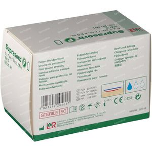 Suprasorb F Pansement Steril 5 x 7cm 100 compresses