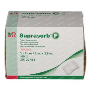 Suprasorb F Pansement Steril 5 x 7cm 100 pièces compresses