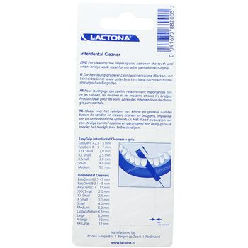 Lactona Cleaners Xl 10Mm 6 pièces