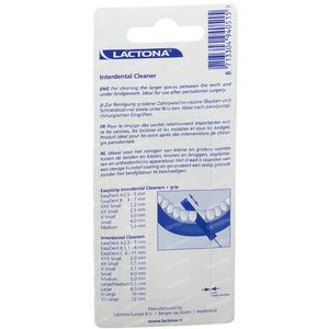 Lactona Easydent Combi-Cleaner 2,5-5Mm 5 pièces