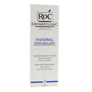 Roc Enydrial Extra-Emollient Body Balm Zeer Droge Huid 200 ml tube