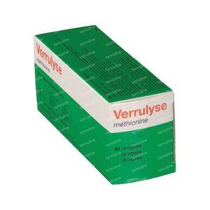 Verrulyse Methionine 40  Dragees