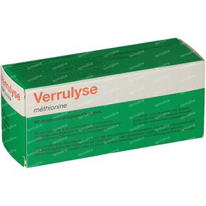 Verrulyse Methionine 40 St Dragees