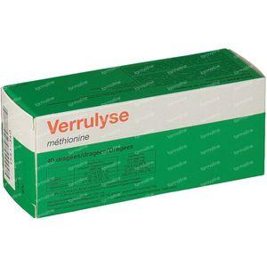 Verrulyse Methionine 40 dragées