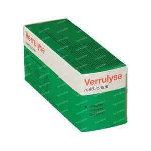 Verrulyse Methionine 40 stuks Retard-Granulat