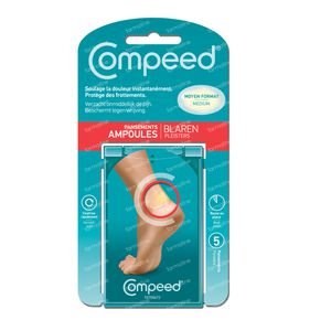 COMPEED® Blarenpleisters Medium 5 pleisters
