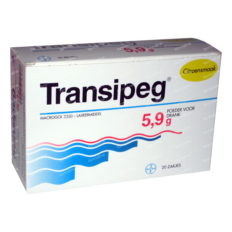 Transipeg 118 g sachets commander ici en ligne | FARMALINE.be