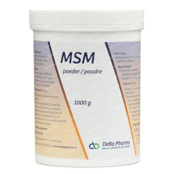 Deba MSM Poudre 1 kg