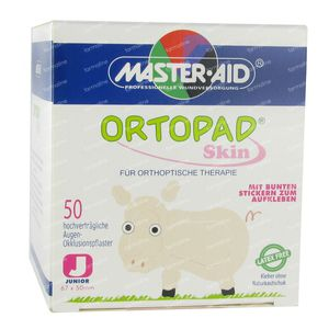 Ortopad Skin Junior Eye Plaster 50 pezzi