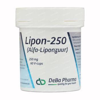 Deba Pharma Lipon-250 60 capsules