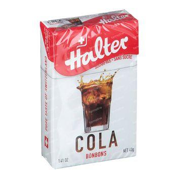 Halter Bonbon Cola Sans Sucre 40 g