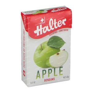 Halter Bonbon Pomme Sans Sucre 40 g
