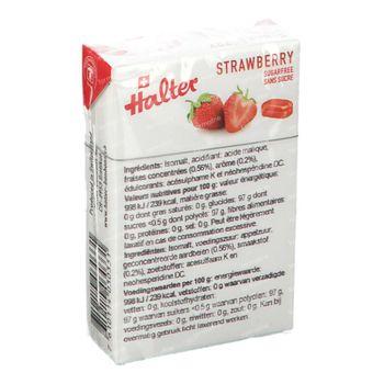 Halter Bonbon Fraise Sans Sucre 40 g
