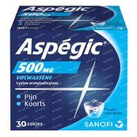Aspégic 500mg - Pijn 30  zakjes