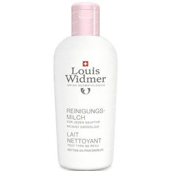 Louis Widmer Reinigingsmelk (Zonder parfum) 200 ml