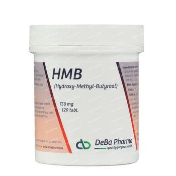 Deba Hmb 750 Mg 120 comprimés