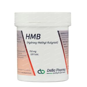 Deba Hmb 750 Mg 120 tabletten