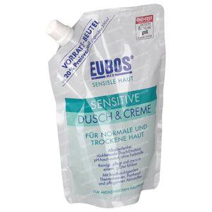 EUBOS Sensitive Dusch & Creme Nachfüllung 400 ml
