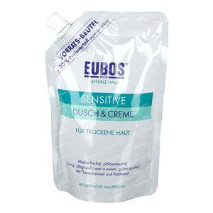 EUBOS Sensitive Gel Douche & Crème Recharge 400 ml