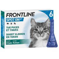 FRONTLINE Spot On Vlooien en Teken Kat 6  pipet(ten)