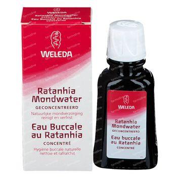 Weleda Eau Buccal au Ratanhia 50 ml