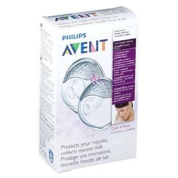 Avent Du Sein Shell + Compresses 6 pièces