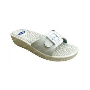 Scholl Sandal Massage White Size 36 1 pezzo
