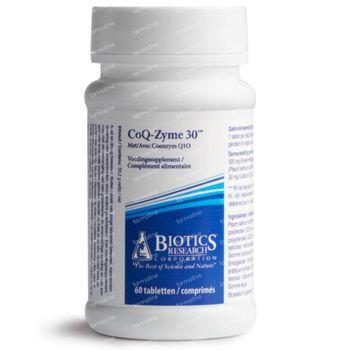 Biotics CoQ-Zyme 30 60 comprimés