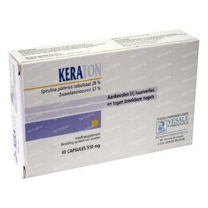 Keraton 530mg 40 capsules