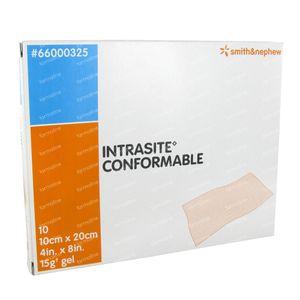 Intrasite Conform 10cm x 20cm 10 unidades