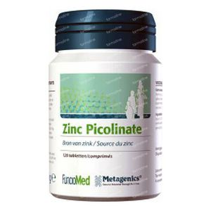 Zn Picolinate 22.5mg 120 tablets