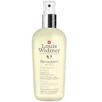 Louis Widmer Remederm Lichaamsolie Spray Licht Geparfumeerd 150 ml