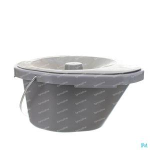 Vilgo Ergometrische Emmer WC-Stoel 1 stuk