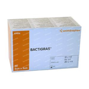Bactigras Bandage 5cm x 5cm 50 St
