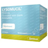 Lysomucil 600mg 60  zakjes