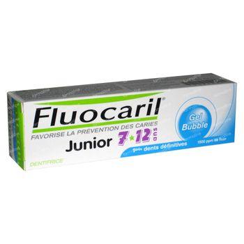 Fluocaril Gel Dentiaire four enfants Bubble Gum 7 - 12 ans 50 ml