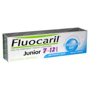 Fluocaril TandGel Kinderen Bubble Gum - 12 jaar 50 ml