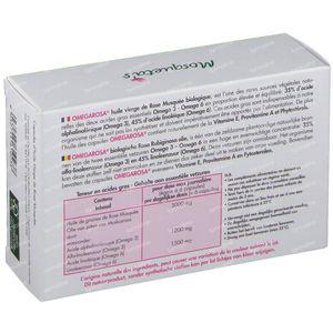 Mosquetas Rose Omegarosa Bio Rozenolie 60 capsules