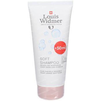 Louis Widmer Soft Shampoo Zonder Parfum + 50 ml GRATIS 150+50 ml