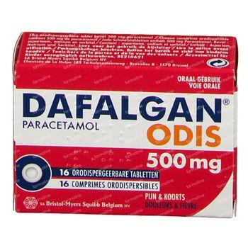 Dafalgan Odis 500mg 16 comprimés à sucer