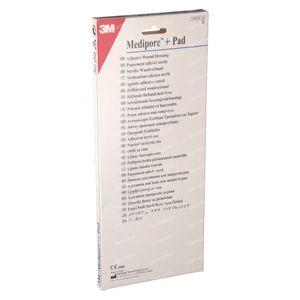 3M Medipore + Pad Adhesief Wondverband 10 x 25cm 3571EP 5 St