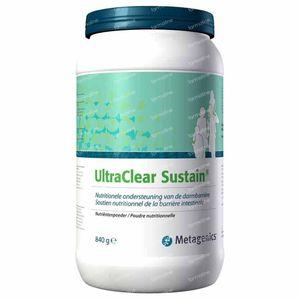 Ultra clear sustain 840 g poeder
