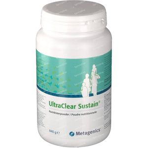 Ultra Clear Sustain 840 g Polvere