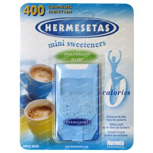 Hermesetas 400 Tabl. 400 tabletten